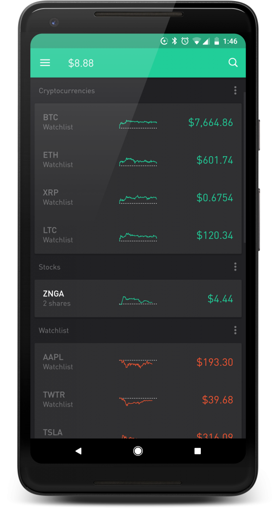 apps that allow you to buy cryptocurrency