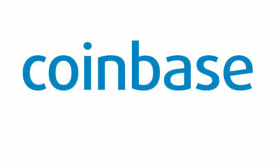 coinbase logo white - the cryptobase - crypto currency news